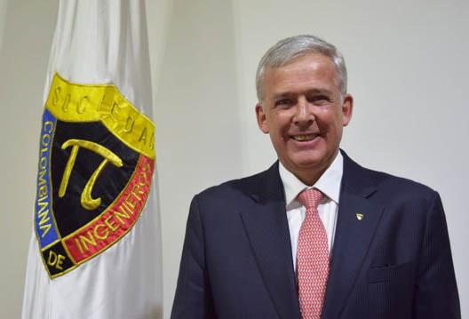 Ingeniero Argelino Durán Ariza, Presidente de la Sociedad Colombiana de Ingenieros