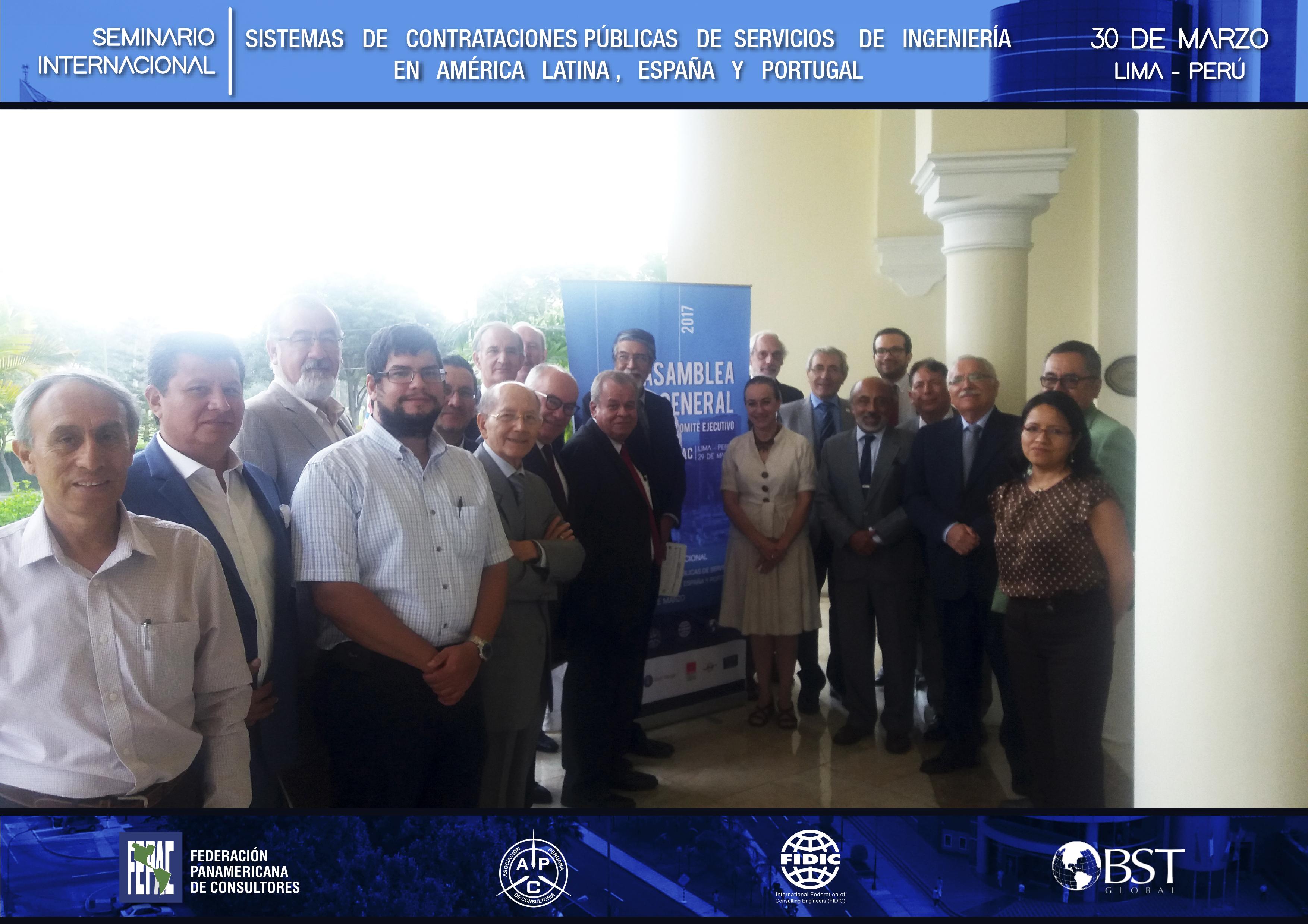 Seminario FEPAC - APC, Lima 2017
